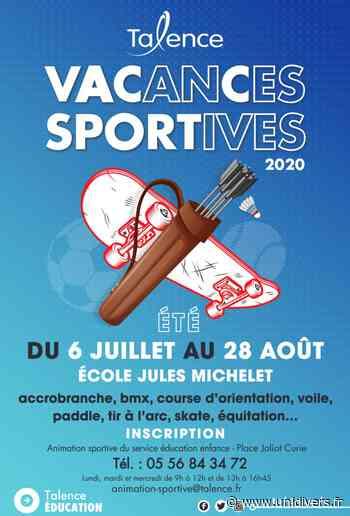 Vacances Sportives d'été Ville de Talence Talence - Unidivers