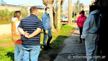 Esteban Echeverría: Gray recorrió el barrio San Sebastián para supervisar el Plan Detectar - Cronos noticias