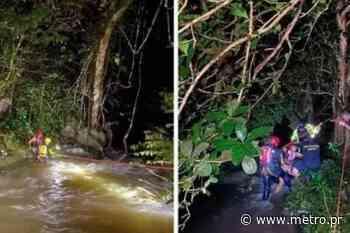 Rescatan a dos mujeres varadas en río Gozalandia en San Sebastián - Diario Metro de Puerto Rico
