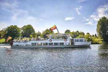 Weiße Flotte Mülheim: Stündliche Linie am Wochenende