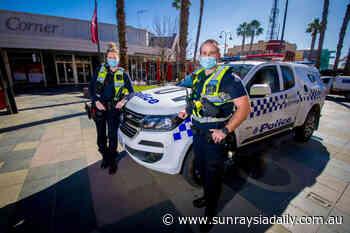 Police patrol Mildura with added powers - Sunraysia Daily