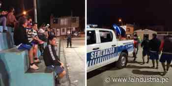 Detienen a 12 personas jugando fulbito en Laredo | TRUJILLO - La Industria.pe