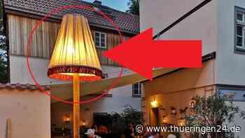 Erfurt: Café-Betreiber stellt Lampe auf – und bereut es bitter - Thüringen24