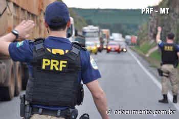 PRF apreende pistola e 10 munições em Nova Santa Helena/MT - O Documento