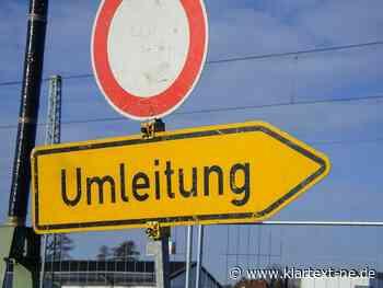 Grevenbroich - Bahnstraße wird abschnittsweise voll gesperrt   Rhein-Kreis Nachrichten - Rhein-Kreis Nachrichten - Klartext-NE.de