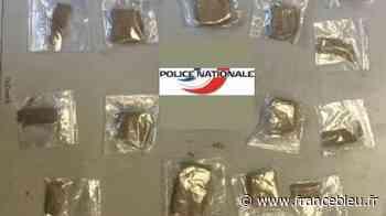 Joué-lès-Tours : les policiers retrouvent des sachets de cannabis dans des pochettes de jus de fruits - France Bleu