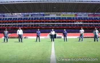 El fútbol regresa al estadio Rodrigo Paz Delgado después de cinco meses con el amistoso entre LDU y el Independiente - El Comercio (Ecuador)