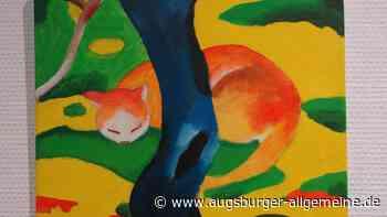 Kunst von Kindern: So farbenfroh wie die großen Meister - Augsburger Allgemeine