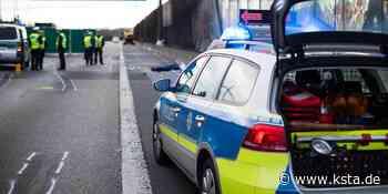 Einsatz bei Troisdorf: Flucht vor Kölner Polizei endet mit zerschossenen Reifen - Kölner Stadt-Anzeiger