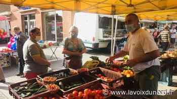 Masques obligatoires au marché de Seclin: «Pourtant on n'est pas à Lille!» - La Voix du Nord
