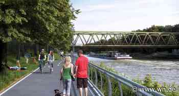 Münster: 22 Kilometer der Kanalpromenade bereits durchgeplant