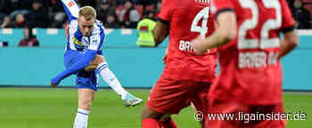 Hertha BSC: Pascal Köpke trainiert im Moment individuell - LigaInsider