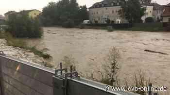 Hochwasser weckt in Kolbermoor Erinnerungen an Überflutung von 2013 - ovb-online.de