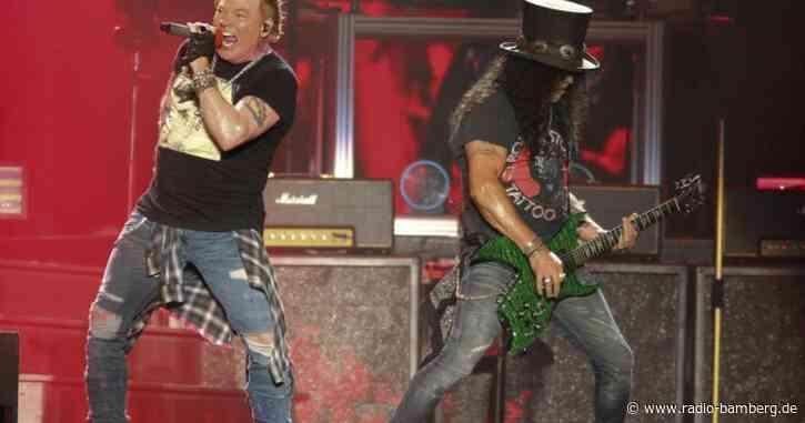 Band Guns N' Roses verschiebt Tour: Konzert in München 2021