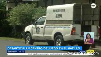 Nacionales Autoridades cierran centro de apuestas en Pesé - TVN Panamá