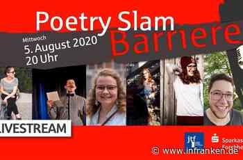 """Forchheim: Live-Stream zum Poetry-Slam """"Barrieren"""""""