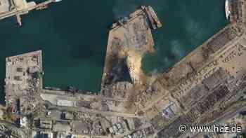 Nach verheerender Explosion in Beirut: Luftbilder zeigen Trümmer-Stadt