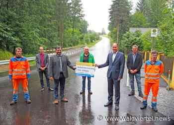 "Fahrbahnsanierung L 7054 – ""Waldsee"" - waldviertel.news"
