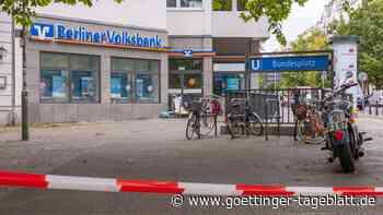 Fahndung nach Berliner Bankräubern: Fluchtauto gefunden, Autobahn gesperrt