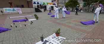 En Manta siembran plantas por 54 mujeres, víctimas de femicidios en Ecuador - El Universo