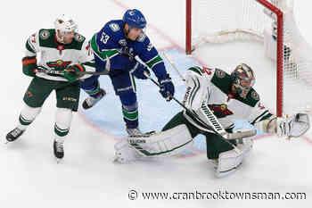 Canucks tame Minnesota Wild 4-3 to even NHL qualifying series - Cranbrook Townsman