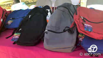Inglewood nonprofit hosts free back-to-school giveaway - KABC-TV