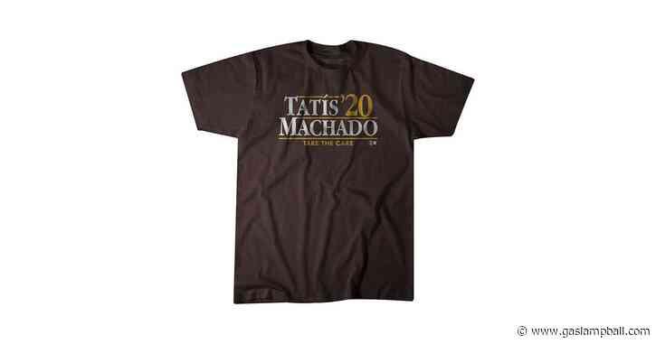 Tatis/Machado 2020 shirts are here!