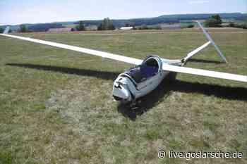 56-jähriger Pilot schwer verletzt | Bad Gandersheim - GZ Live