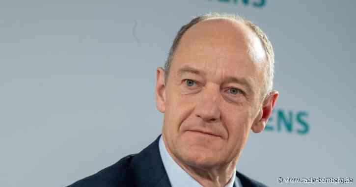 Busch übernimmt Siemens-Chefsessel von Kaeser im Februar
