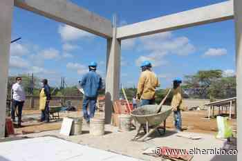 Se reinició la construcción de la pila pública en Maicao - EL HERALDO