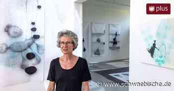 Malerin Barbara Ehrmann aus Ravensburg im Ateliergespräch - Schwäbische