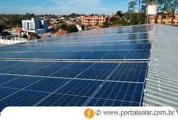 Painéis solares começam a funcionar em ginásio de Cachoeira do Sul - Portal Solar