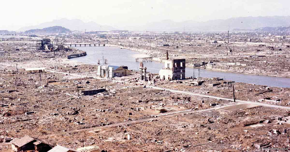 'Flesh fell from bodies and stomachs burst open' on the day Hiroshima bomb fell