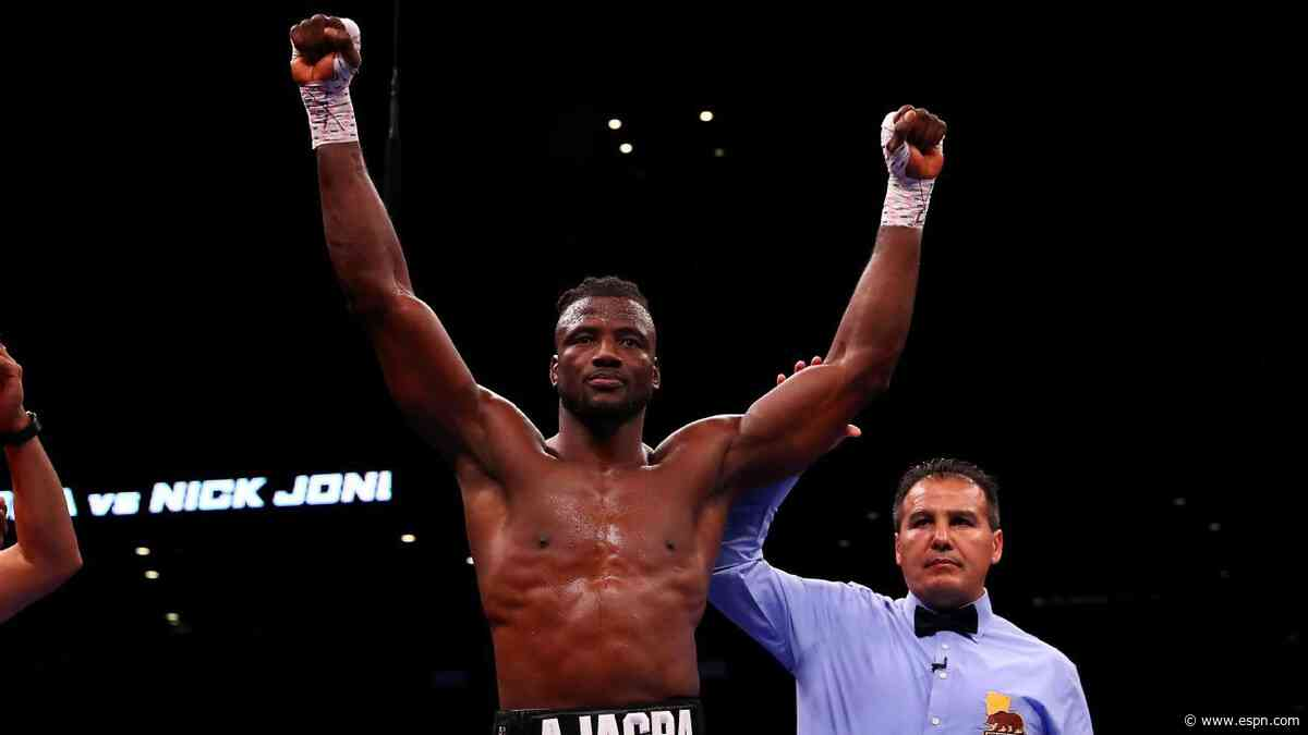Heavyweight Ajagba signs deal with Top Rank