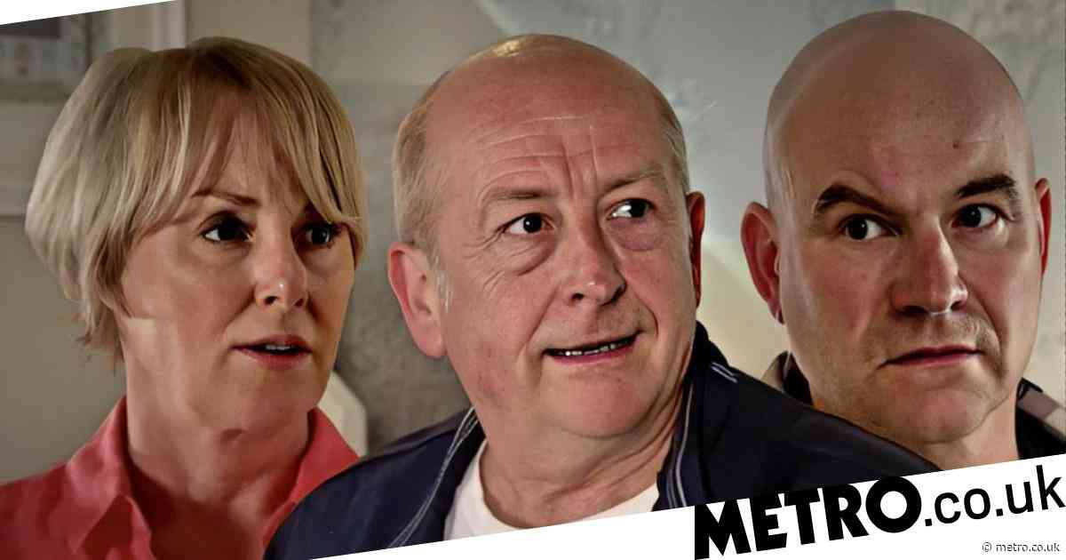 Coronation Street spoilers: Tim Metcalfe finally sees Geoff for the monster he is as Sally reveals the truth?