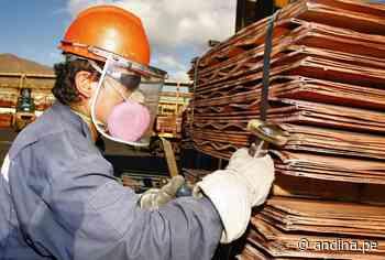 Sector minero brinda empleo a más de 150000 personas al mes de junio - Agencia Andina