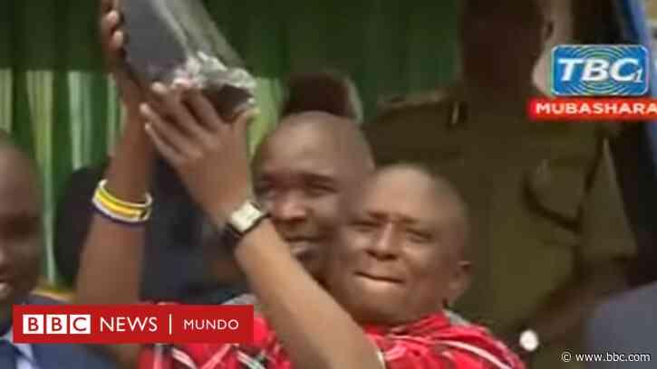 Tanzanita: el afortunado minero que volvió a encontrar una roca valorada en US$2 millones semanas después de su primer hallazgo - BBC News Mundo