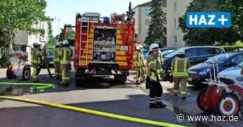 Seelze: Feuerwehr löscht Brand an Küchenzeile - Hannoversche Allgemeine