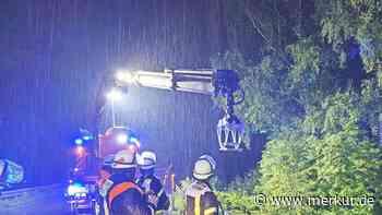 Hochwasser nach Starkregen: Das ist die Lage im Landkreis Fürstenfeldbruck - Merkur.de