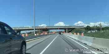 Fermeture complète de l'autoroute 40 à Vaudreuil-Dorion le 8 août - INFOSuroit.com