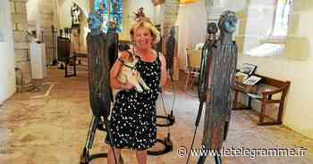À la chapelle Saint-Maudé, à Ploemeur, le travail de Maryline Cobigo pour un autre regard sur les migrants - Le Télégramme