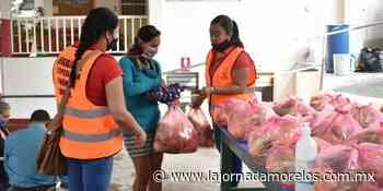 Acerca Gobierno de Jiutepec programas sociales a la población - La Jornada Morelos
