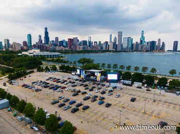 Pop-up venue Lakeshore Drive-In offers live music with skyline views - Time Out Chicago