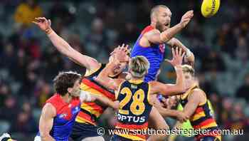 Melbourne trounce hapless Adelaide in AFL - South Coast Register