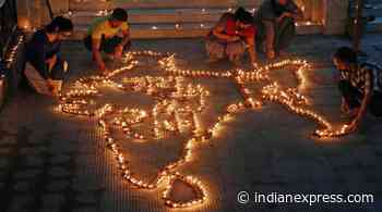 Most senior RSS leaders in Ayodhya, Sangh HQ in Nagpur marks occasion with 'rangolis' - The Indian Express