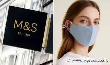 Marks and Spencer's sell-out face masks are back in stock with new designs - Express