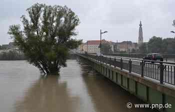 Hochwasser überschwemmt Innvorland - Simbach am Inn - Passauer Neue Presse