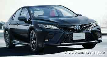 Toyota Marks 40 Years Of Camry With Black Edition Model In Japan - CarScoops