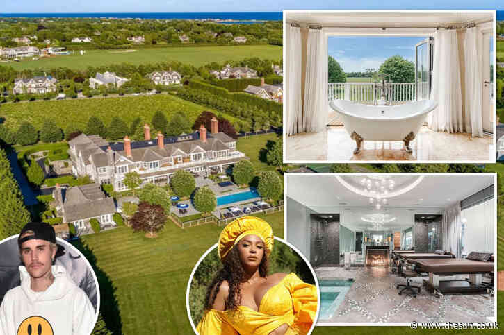 Inside $2 million-a-NIGHT Hamptons mega mansion where Beyonce and Justin Bieber relax