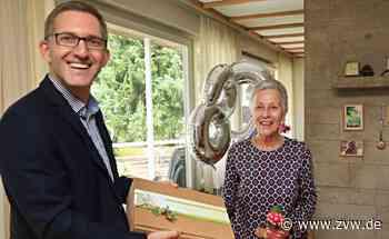 Ehemalige Stadträtin Irene Pfeiffer aus Welzheim feiert 80. Geburtstatg - Welzheim - Zeitungsverlag Waiblingen - Zeitungsverlag Waiblingen